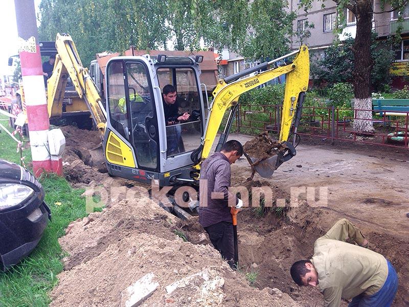 Аренда мини экскаватора в Нижнем Новгороде