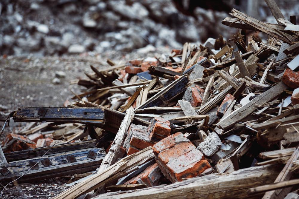 Вывоз земли и строительного мусора